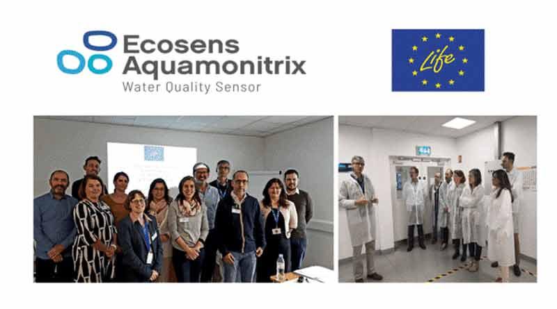 Ecosens Aquamonitrix Uraren kalitatearen monitorizazioa